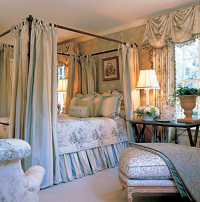 French Country Bedroom Ideas: Designer Spotlight: Charles Faudree • It's All In The Mix