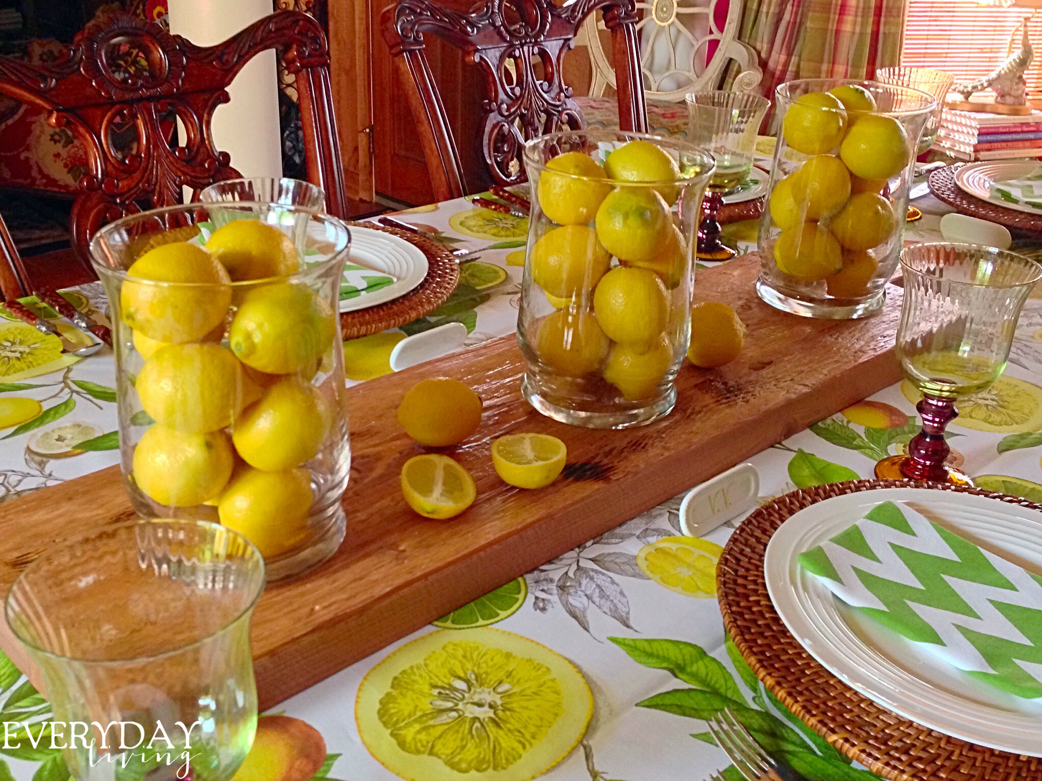 tablescape tuesday everything�s coming up lemons