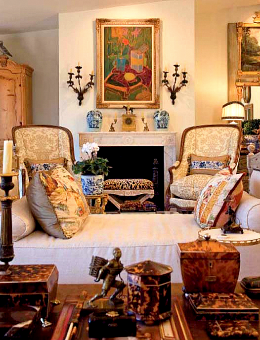 Designer spotlight charles faudree it s all in the mix for Charles faudree antiques and interior designs