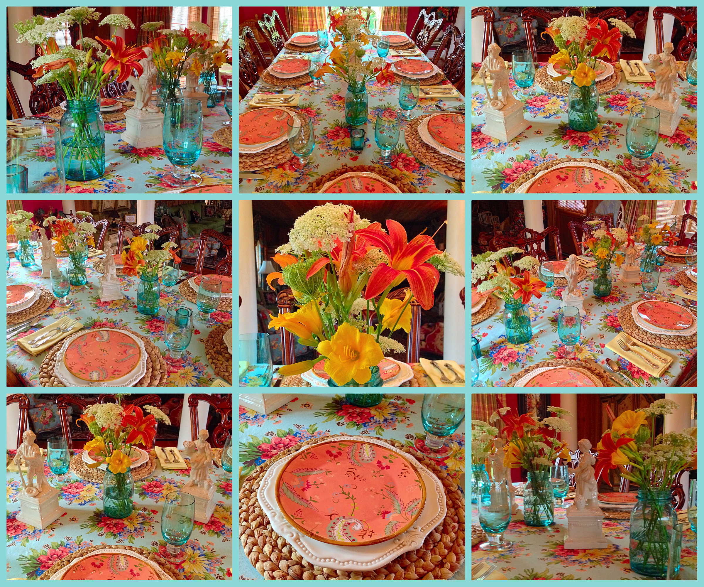 Tablescape Tuesday English Country
