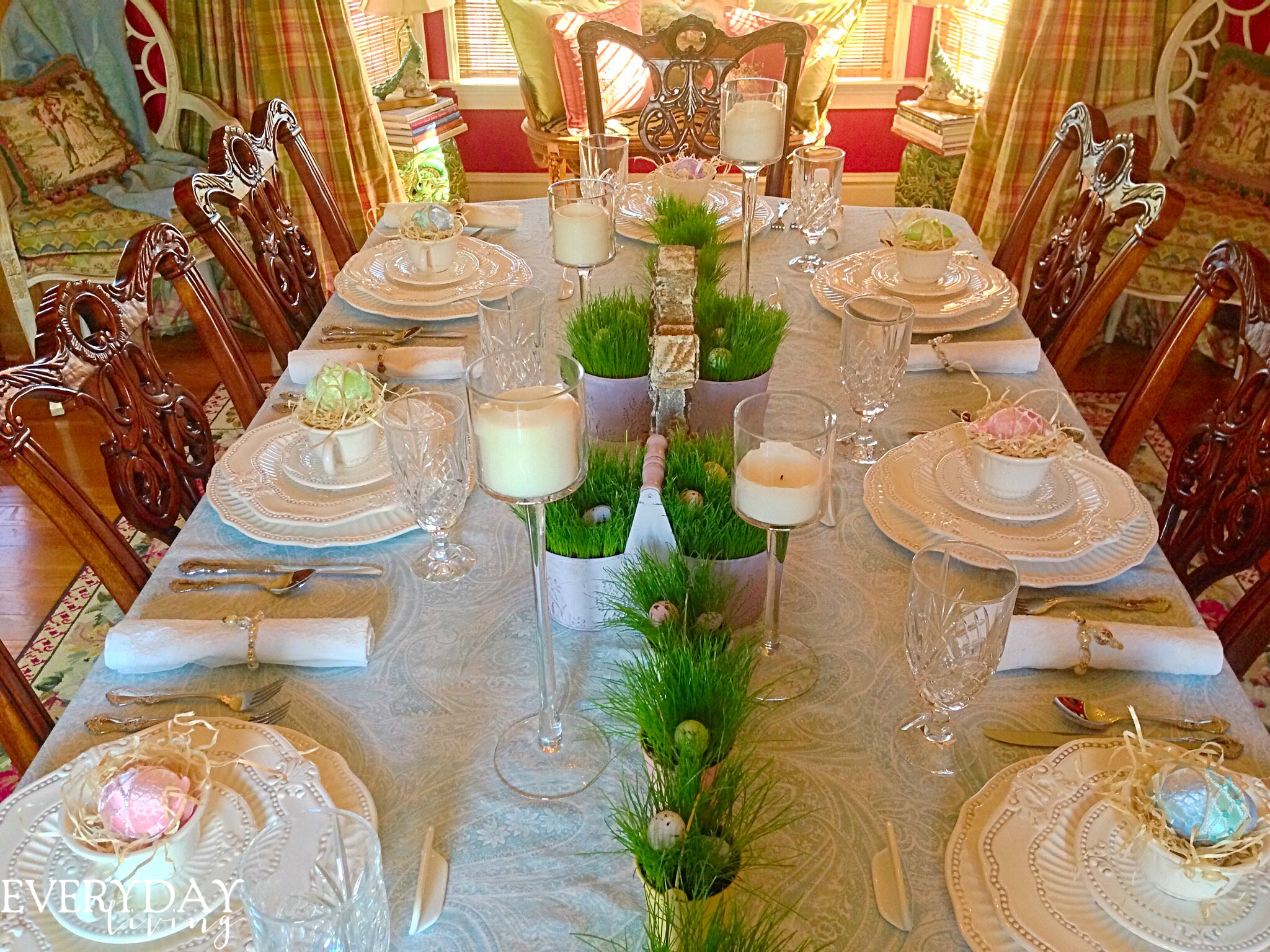 Tablescape Tuesday The Old Rugged Cross