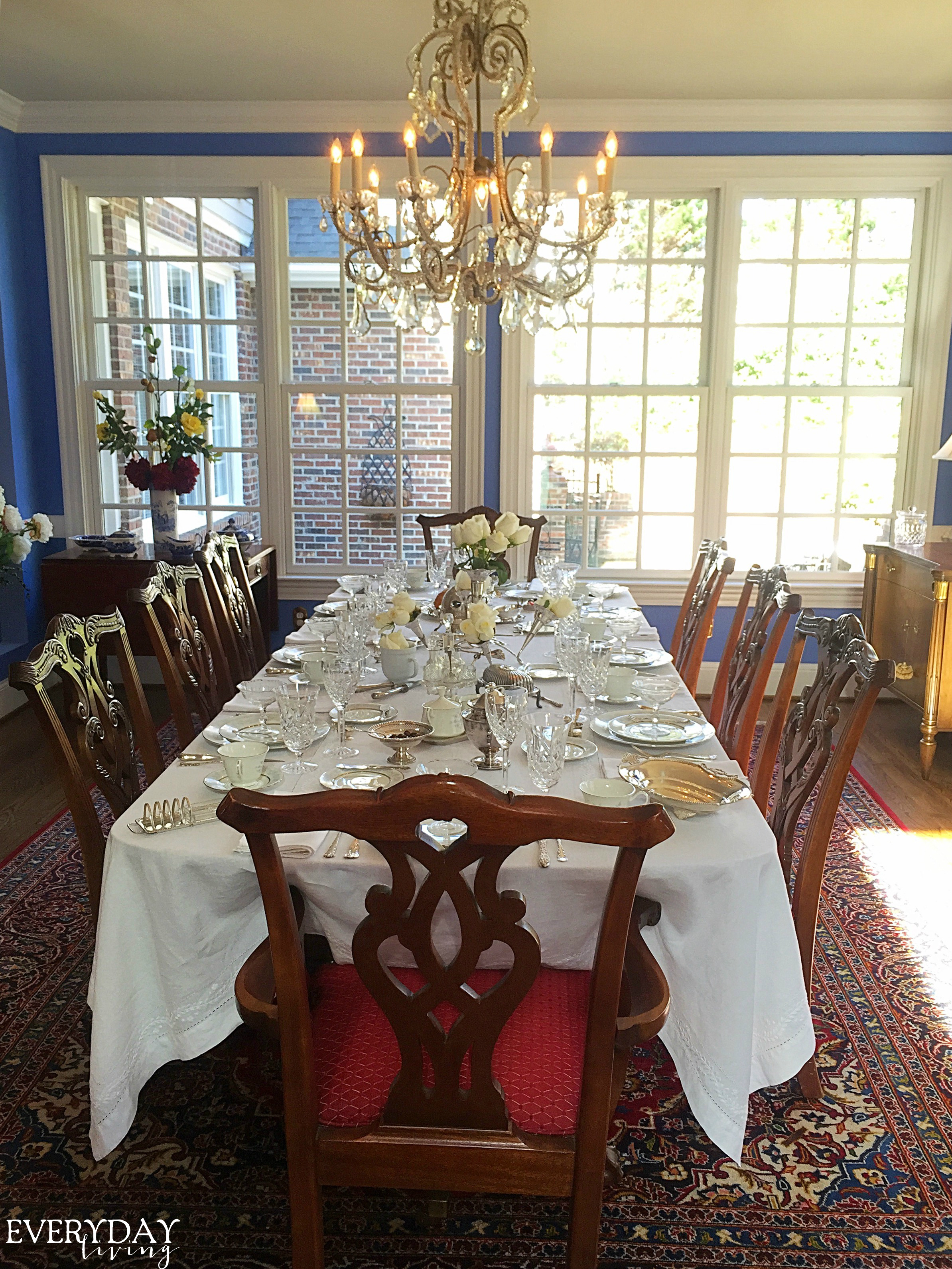 Tablescape Tuesday Downton Abbey Style